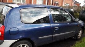Renault clio parts or repair