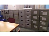 Metal 4 drawer filing cabinet (many available)