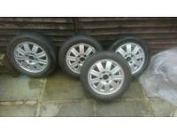Ford 14 inch alloys