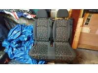 Mercedes vito 639 rear seats