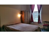 large double bedroom with a big bath. ( en suite )