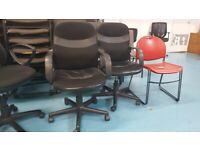 2 Niceday office/meeting/boardroom/conference swivel chairs