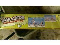 Trailgator bike tow bar