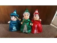 Rare disney fairy godmothers from sleeping beauty