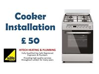 Gas Cooker Offer, Electric Cooker/Gas Hob Installation, Gas Safety Certificate, Gas Safe Registered