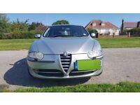 Alfa Romeo 147 Lusso 2.0L T.Spark Silver 5 door hatchback