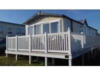 Beautiful static caravan at Littlesea, Weymouth to rent for short breaks and holidays.