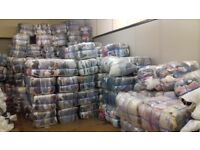 Huge joblot of 100 bales of mixed clothes