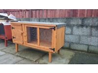 rabbit/guinea pig hutches . all sizes and colours