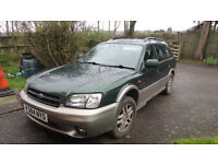 2001 Subaru Outback 2.5 Spares or repair (MOT failure)
