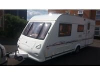 Elddiss Odessey 524 2005 4 birth with motor mover and awning