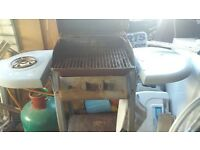 old barbeque but still works