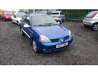 STUNNING RENAULT CLIO 1.2 WITH 101000 MILES FROM NEW AND MOT UNTIL JANUARY 2017!