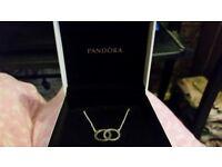 Genuine pandora necklace. Worth £75
