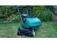Qualcast Classic 35S Self Propelled Petrol / Lawnmower - Scarifier