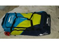 Complete Cricket Set - New (inc. Pads, Helmet, gloves, Keeper set with inner gloves, kitbag etc)