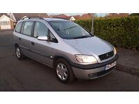 Vauxhall/Opel Zafira, 1.8 petrol, 1 years MOT