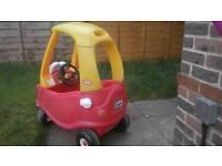 Little tikes cozy coup car