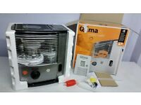 Qlima R8027C Portable Paraffin Heater, 2.7 kW NEW BOXED