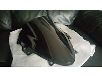 *Brand new* GSX-R K4 600/ 750 tinted black double bubble screen