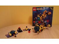 Aquanauts underwater lego set