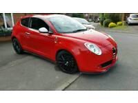Alfa Romeo Mito Cloverleaf spec 1.4 turbo 155 bhp audi a3 golf gti rr mini cooper s civic type r