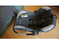 Used Silver cross ventura car seat. Collection only