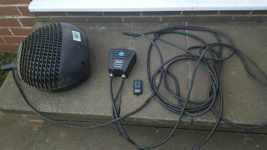 Fabulous Bargain Price Pond Pump Oase Promax 30 000 Only One Pump Wiring Cloud Oideiuggs Outletorg