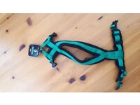 Dog-Games fleece harness size 0 in Green