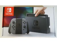 Nintendo Switch Grey - 3 Games and Accessories