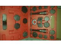 Brake calliper piston rewind tool