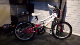 """Girls 20"""" mountain bike £65"""
