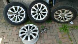 "Audi 17"" vag vw skoda 5x112 wheels"