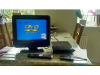 """Portable 15"""" tv and dvd player"""