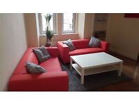 BEAUTIFULLY FURNISHED AND SPACIOUS 2 BED FLAT IN THE HEART OF GORGIE