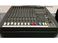 Soundcraft spirit PowerStation 600 amp mixer In good working order with instruction manual.