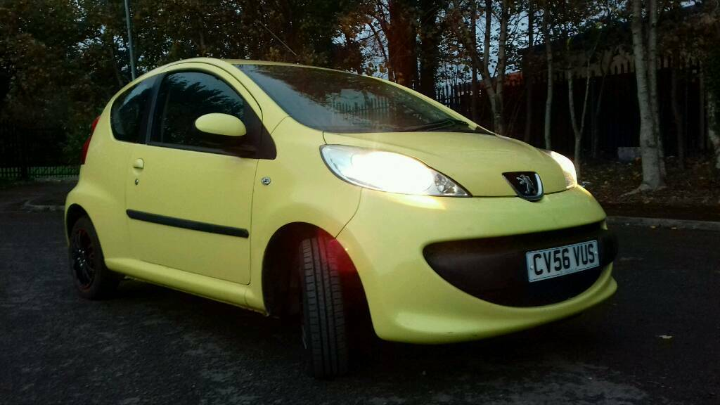 Peugeot 107 urban mot October 2018, fully serviced & ready to go