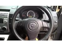 Silver Mazda 5 Sport, 2L Petrol, 5 Speed Manual, 7 Seater, 07 Reg
