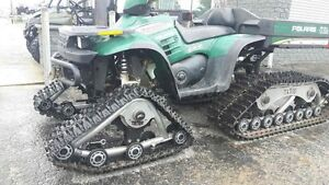 2001 Polaris Big Boss 6x6 + kit de chenilles