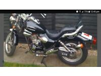 125 cc cruisader extreme.learner legal.