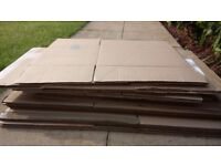 17 DOUBLE Wall Cardboard House Moving Removal Packing Boxes different sizes