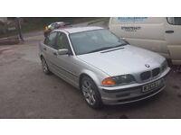 BMW Car 316 year 2000 4 door silver FSH