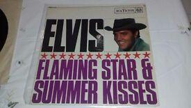 Elvis Presley album Flaming Star & Summer kisses - Very rare
