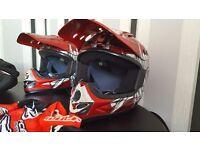 BARGAIN KIDS HELMET MOTORCROSS QUAD MOTORBIKE ETC CHILDS SIZE SMALL BRAND NEW NEVER BEEN WORN £30