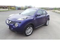 Nissan Juke for sale low mileage 1.2 low tax and insurance sat nav premium edition CAT D
