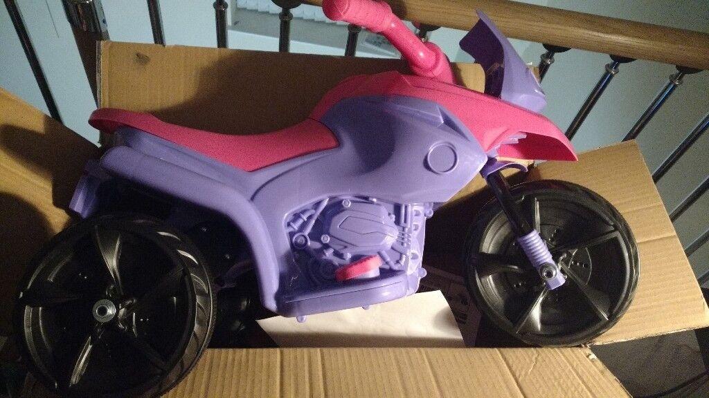 Fairy ride on 6V motorised girls trike