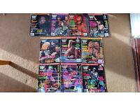 WWF WWE Magazines 1993 - 2002