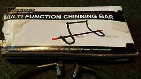 Chinning bar.