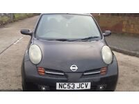 Nissan Micra 1.4 Petrol spares and repair runs and drives poss chain