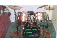 Vintage Premier drum kit - good condition, with accessories